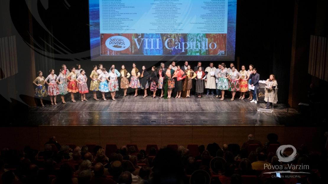 VIII Cerimónia de Insigniação da Confraria dos Sabores Poveiros 29
