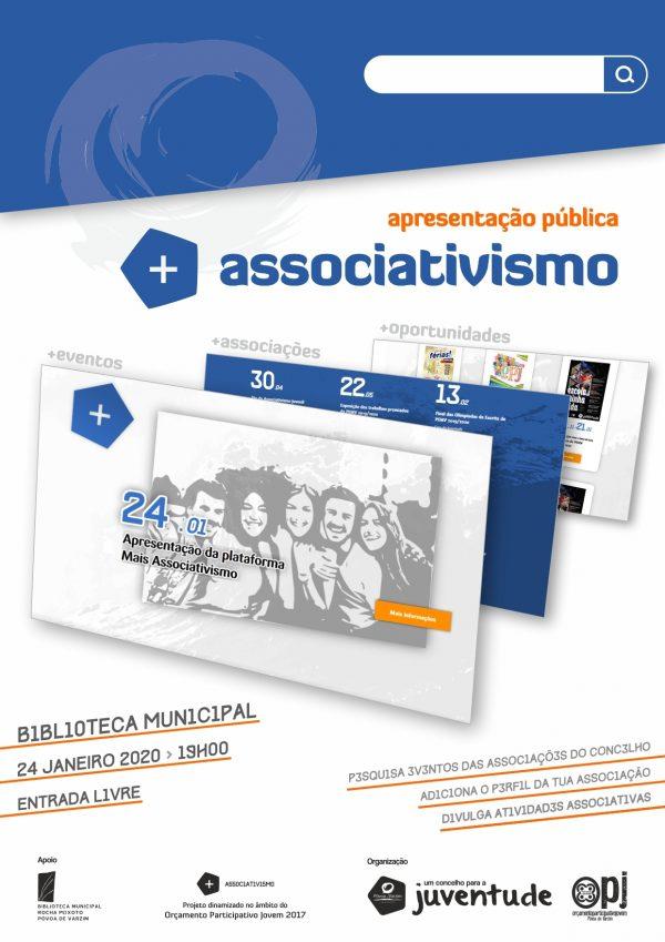 """Apresentação Pública da """"Plataforma + Associativismo"""""""