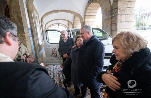 Município apoia Instituto Maria da Paz Varzim na aquisição de viatura