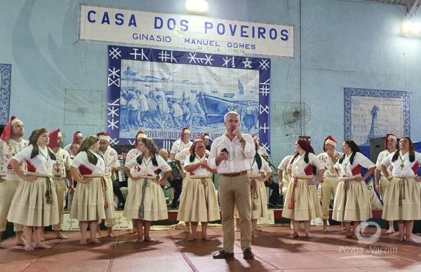 Presidente da Câmara e Rancho Poveiro nos 90 anos da Casa dos Poveiros do Rio de Janeiro