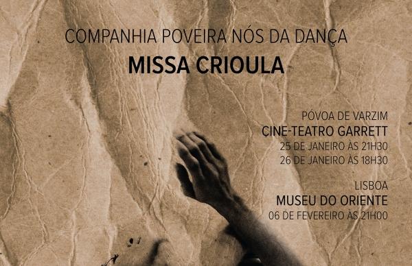 """Companhia Nós da Dança apresenta """"Missa Crioula"""""""