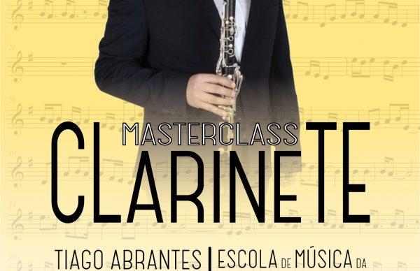 Inscrições abertas para a IV Masterclass de Clarinete