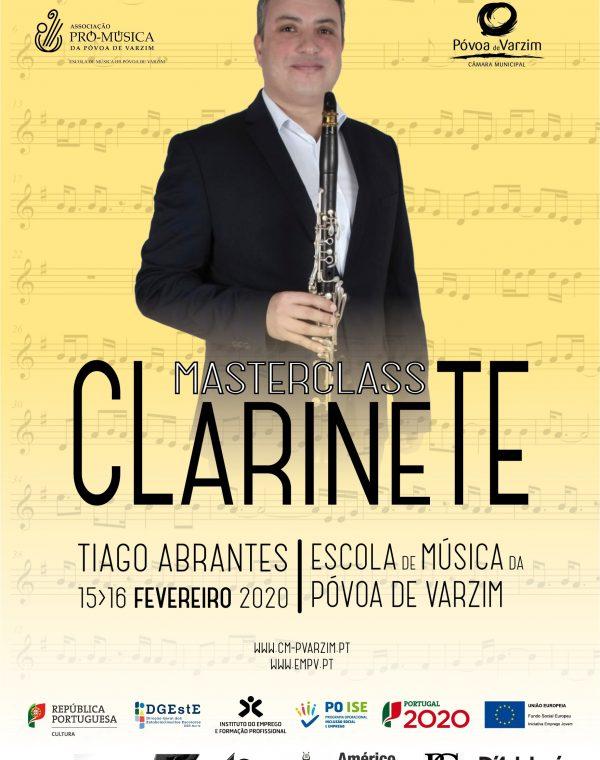 IV Masterclass de Clarinete