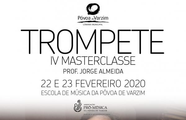 IV Masterclasse de Trompete: inscrições abertas