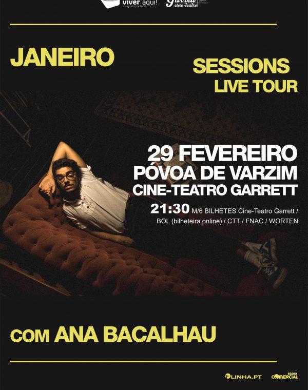 Janeiro Sessions Live Tour, com Ana Bacalhau