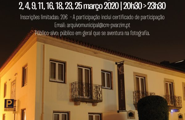 Arquivo promove Oficina de Fotografia