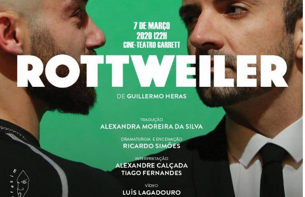 Teatro Noroeste apresenta <em>Rottweiler</em> no Garrett