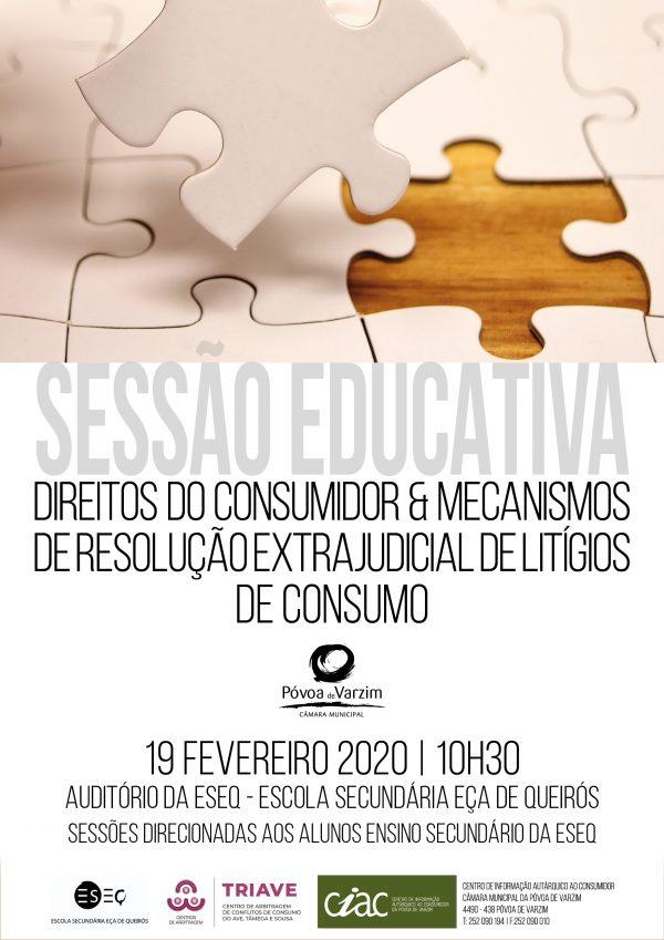 """Sessão sobre """"Direitos do Consumidor & Mecanismos de Resolução Extrajudicial de Litígios de Consumo"""""""