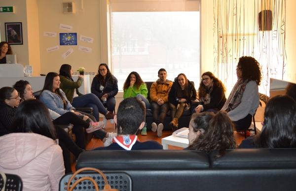 Sessões de Diálogo Estruturado e Auscultação de Jovens