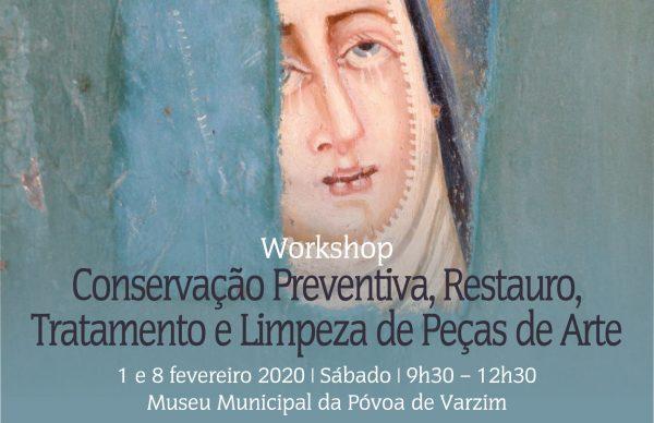 Workshop sobre conservação preventiva, restauro, tratamento e limpeza de peças de arte