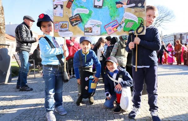 Crianças de todo o concelho celebraram o Carnaval