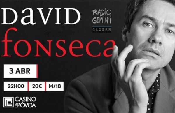 David Fonseca em concerto a favor da Liga Portuguesa Contra o Cancro