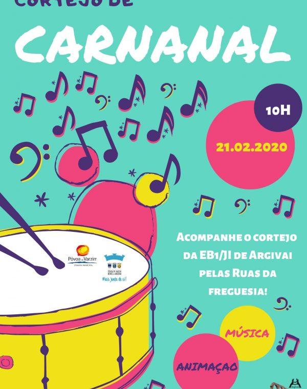 Desfile de Carnaval da Escola  EB1/JI de Argivai