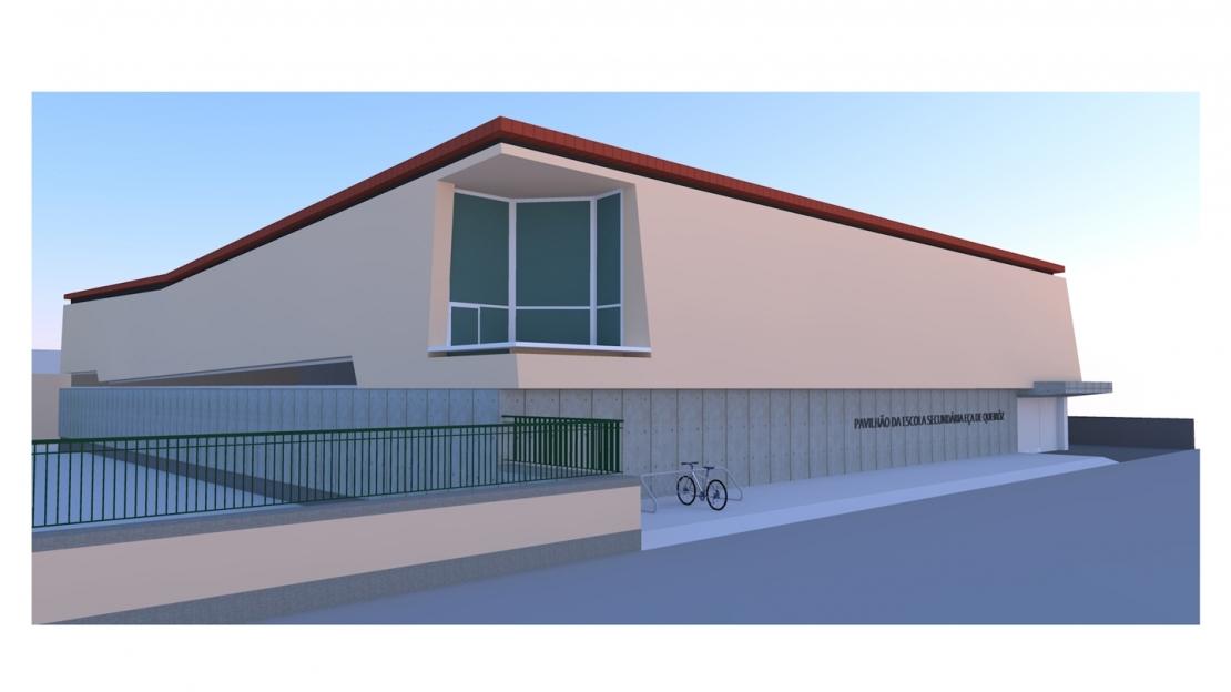 Empreitada de construção do Pavilhão Desportivo na Escola Secundária Eça de Queirós 1
