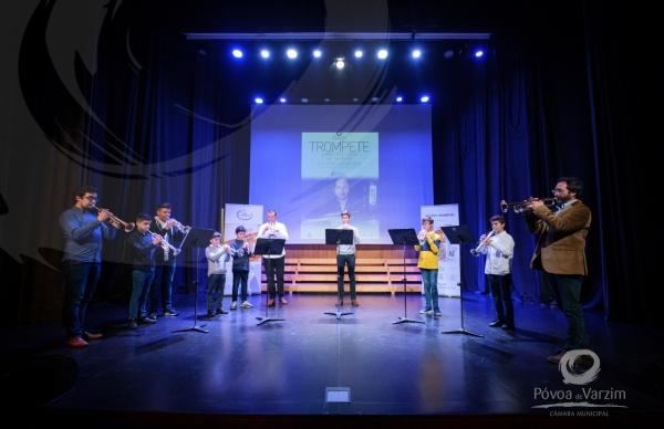 Masterclass de Trompete afina talentos poveiros