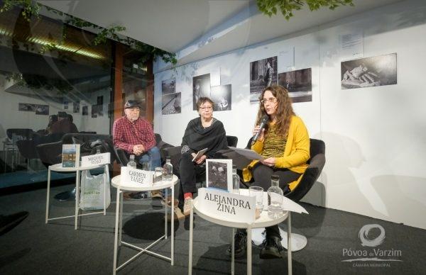Três lançamentos de livros em duas línguas