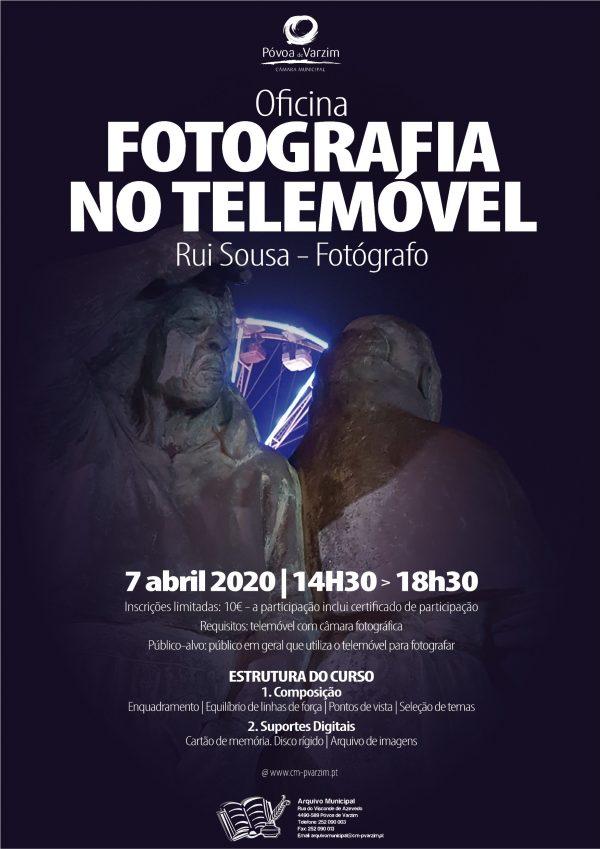 Oficina de Fotografia no Telemóvel - Atividade Cancelada