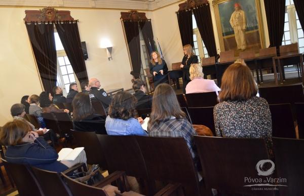 Reunião da Rede Social no Salão Nobre