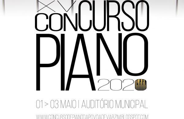 Inscrições abertas para o XV Concurso de Piano