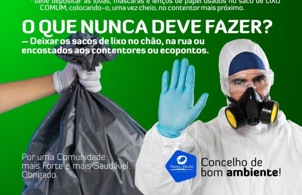 Atenção: novos cuidados com o seu lixo!