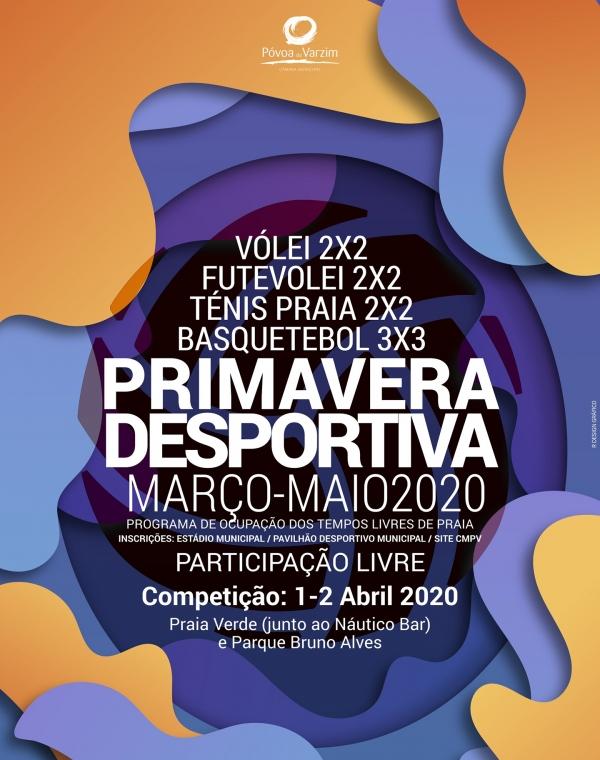 Primavera Desportiva 2020 - Atividade Cancelada