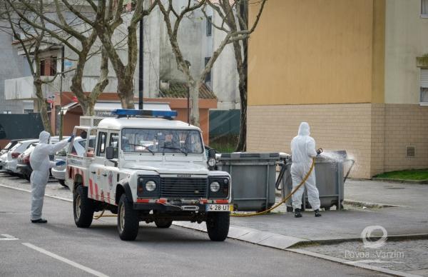 Covid - 19: Desinfeção no concelho alargada a passeios e vias públicas