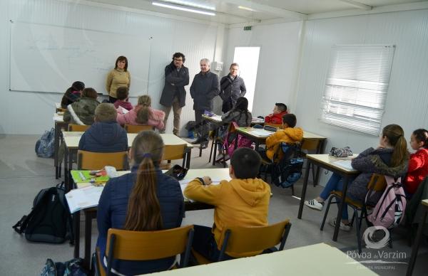 Escola E.B. 2/3 de Aver-o-Mar concluída no início do próximo ano letivo