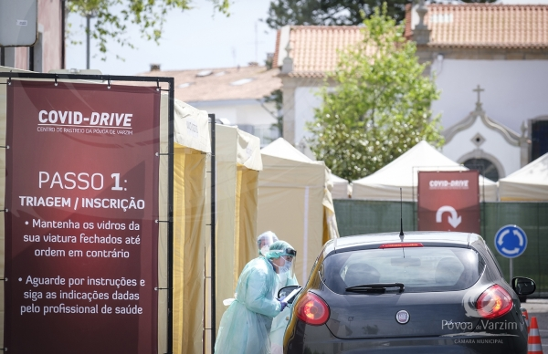 Município empenhado em proteger os poveiros: Covid-Drive e Casa de Recuo ao serviço dos munícipes