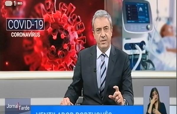 Empresa portuguesa desenvolve ventilador de cuidados intensivos