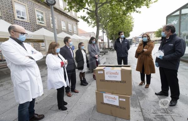 Energie entregou máscaras ao Centro Hospitalar