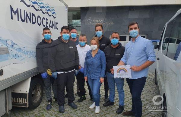 Empresa MundOceanic entrega uma tonelada de peixe a IPSS da Póvoa