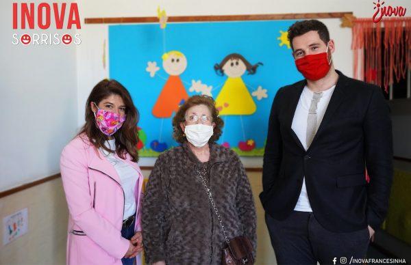 """Inova Sorrisos"" fez donativo de 500€ ao Instituto Maria da Paz Varzim"