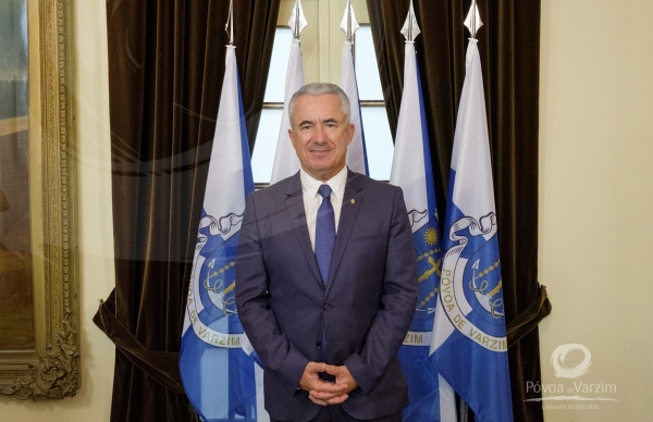 Presidente da Câmara Municipal da Póvoa de Varzim assinala o Dia da Europa