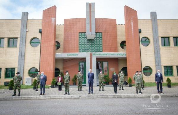Ministro da Defesa na Póvoa de Varzim