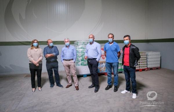 Cooperativa Agrícola doa alimentos a famílias carenciadas do concelho