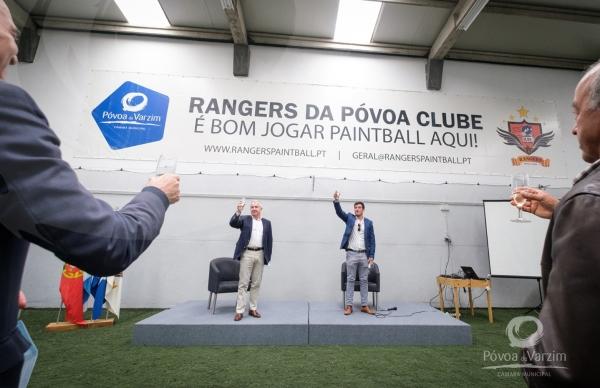 Inauguração da nova sede do Rangers da Póvoa Clube