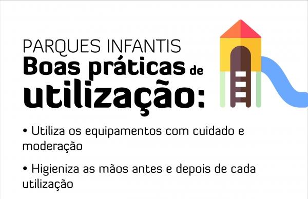 Parques infantis reabertos