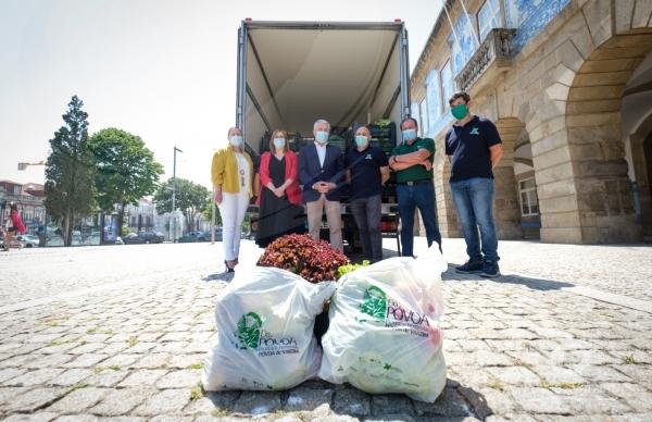 Horpozim promove doação de alimentos a famílias carenciadas