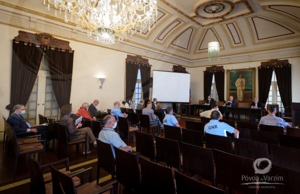 Reuniões com os representantes dos Bairros e do Conselho Municipal de Segurança