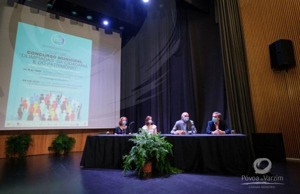 """Entregue 2º Prémio do concurso """"Olimpíadas da Cidadania e Património"""""""