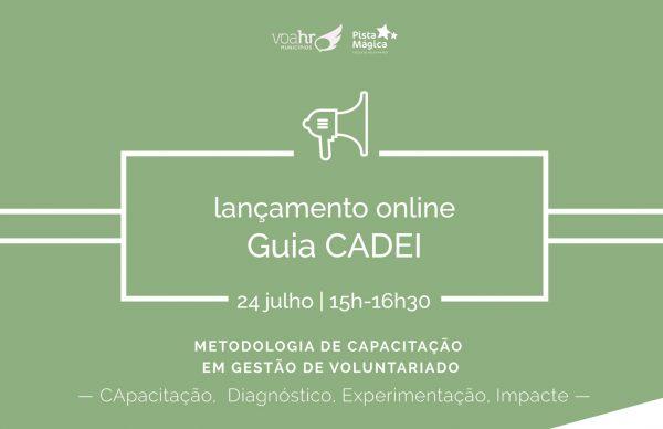 Lançamento online do Guia CADEI