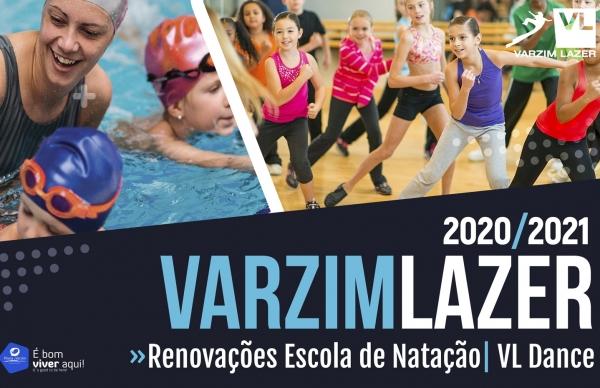 Renovações para Escola de Natação e VL Dance a partir de hoje