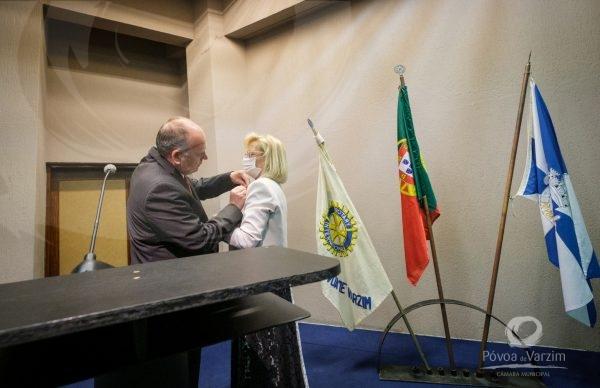Transmissão de tarefas do Rotary Club da Póvoa de Varzim 2020/2021