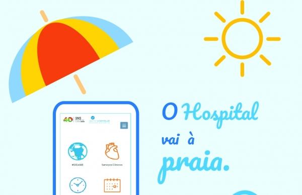 Centro Hospitalar Póvoa de Varzim – Vila do Conde vai à praia