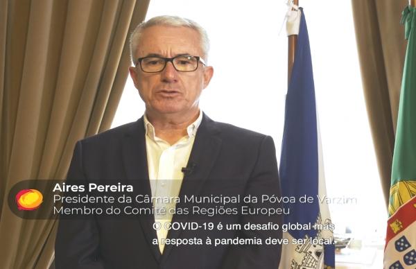 ONU convida Póvoa de Varzim a partilhar boas práticas no combate ao COVID