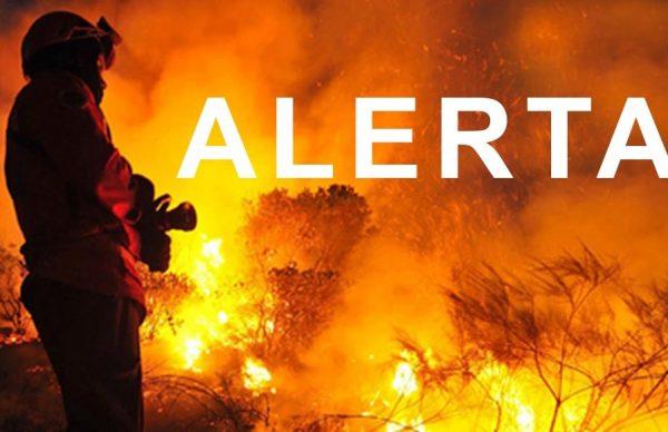 Situação de Alerta (Risco de Incêndio Rural)