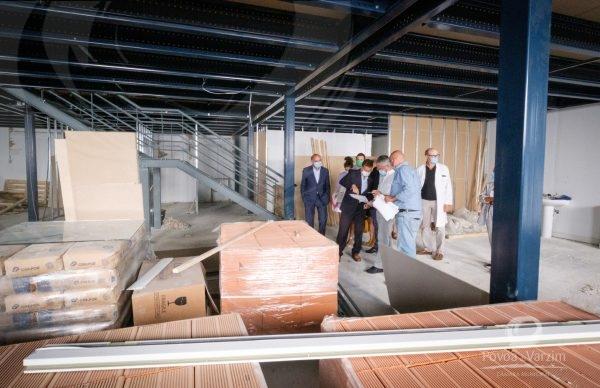 Executivo visita novas obras de ampliação do Hospital da Póvoa de Varzim