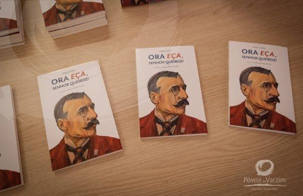 """Lançamento do livro """"Ora Eça, senhor Queiróz!"""