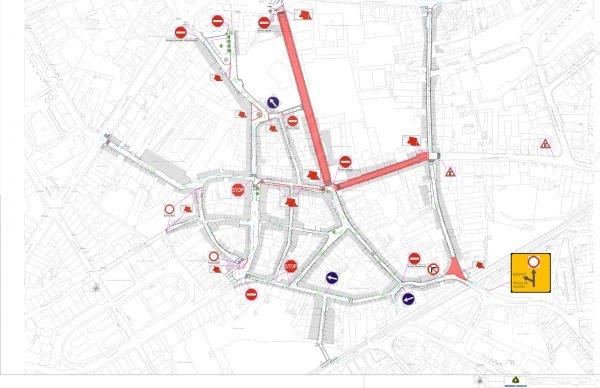 Trânsito cortado nas Ruas do Pinheiro e Carlos Alberto
