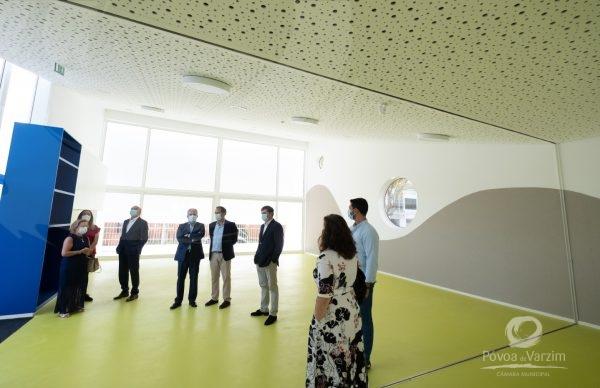 Visita à nova infraestrutura da Escola Nova